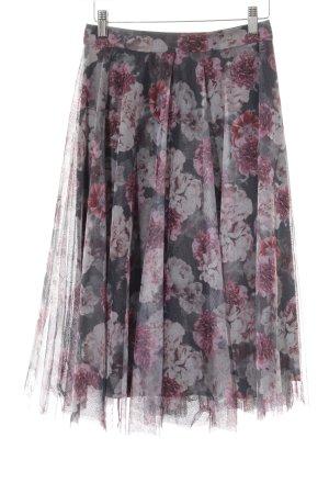 Esprit Midirock florales Muster Gypsy-Look