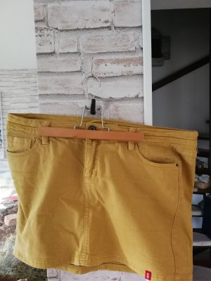 Esprit Mini Rock Jeansrock gelb, Gr. 42