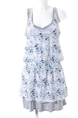 Esprit Minikleid abstraktes Muster Beach-Look