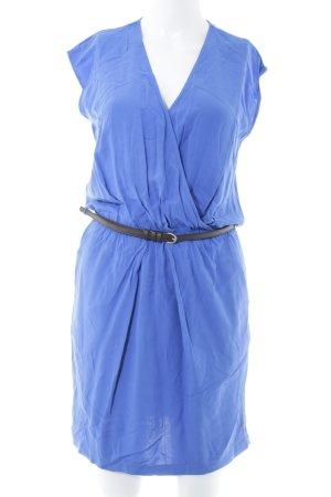 Esprit Minikleid blau-schwarz Casual-Look