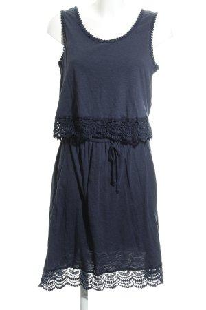 Esprit Minikleid dunkelblau Casual-Look