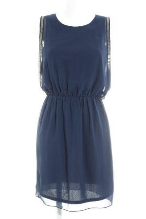 Esprit Minikleid dunkelblau-silberfarben Elegant