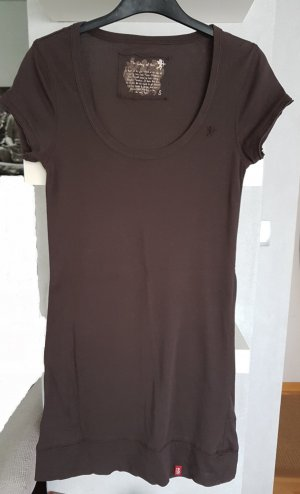 Esprit Minikleid Longtop in Braun XS / S