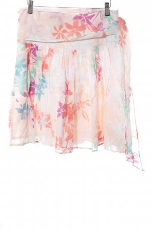 Esprit Mini-jupe motif de fleur style décontracté