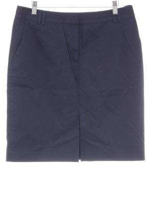 Esprit Minirock dunkelblau Business-Look