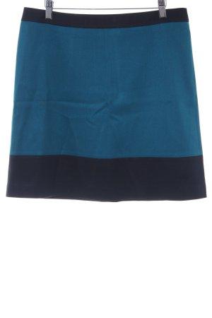 Esprit Mini-jupe bleu foncé-bleu cadet style décontracté