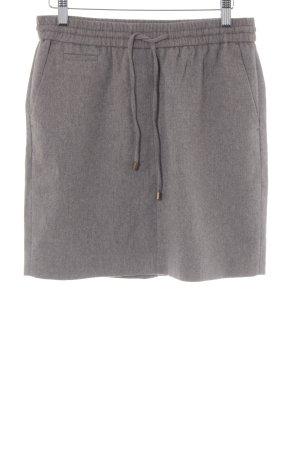Esprit Minirock graubraun schlichter Stil