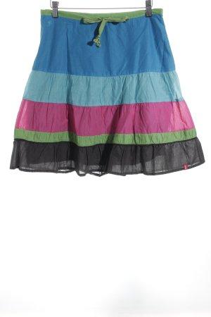 Esprit Minirock Streifenmuster Street-Fashion-Look