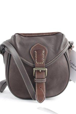 Esprit Mini sac brun-bronze style anglais