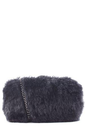 Esprit Mini sac noir-argenté molletonné