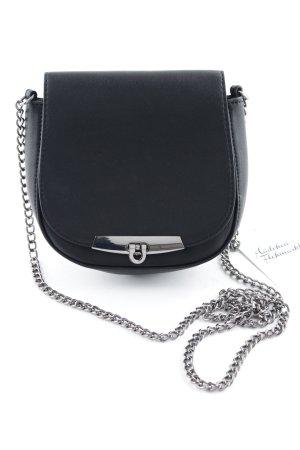 Esprit Mini Bag black-silver-colored minimalist style