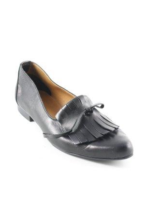 Esprit Mocassins zwart zakelijke stijl