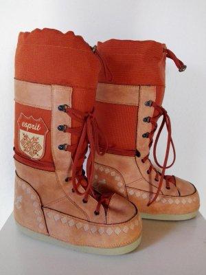 Esprit Moon Boots orange Gr. 38-40