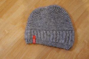 Esprit Mütze grau Strick