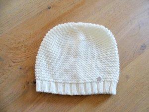 Esprit Chapeau en tricot blanc-blanc cassé