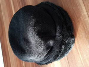 Esprit Fur Hat black