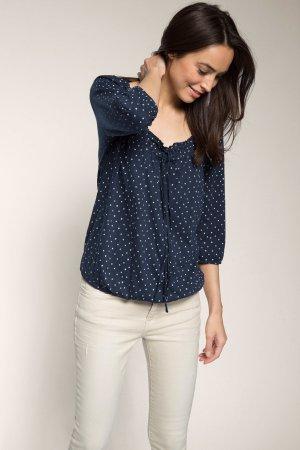 Esprit Muster-Bluse aus 100% Baumwolle Gr. 36 neu
