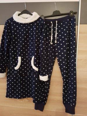ESPRIT Nachthemd & Hose (Set) Blau Gr. M