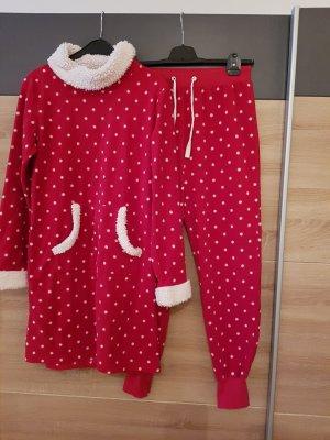 ESPRIT Nachthemd & Hose (Set) Rot Gr. M