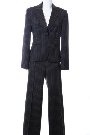 Esprit Traje a rayas negro-blanco estampado a rayas estilo «business»