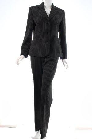 Esprit Nadelstreifenanzug schwarz-weiß Nadelstreifen Business-Look
