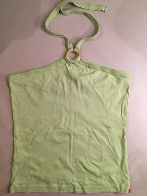 ESPRIT Neckholder Top, grün, Gr. L, wie NEU