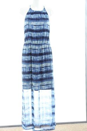 Esprit Vestido de cuello Halter azul degradado de color look casual