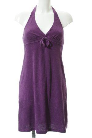 Esprit Vestido de cuello Halter violeta azulado estilo extravagante