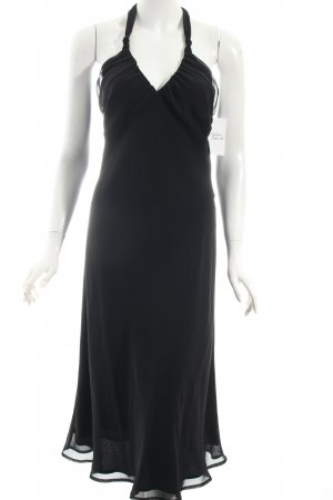 Esprit Neckholderkleid schwarz Eleganz-Look