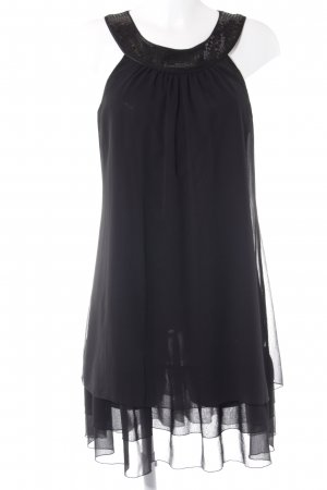 Esprit Halter Dress black glittery