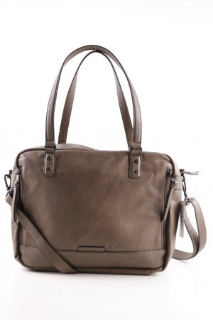 Esprit Notebooktasche graubraun Business-Look
