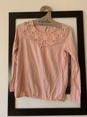 Esprit Gehaakt shirt stoffig roze