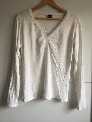 esprit collection T-shirt col en V blanc