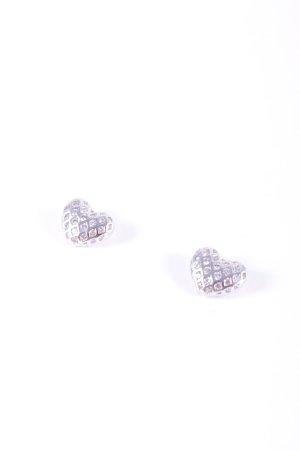 Esprit Oorstekers zilver Herzmuster glitter-achtig
