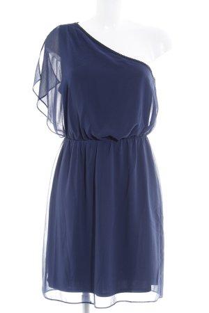 Esprit One-Shoulder-Kleid dunkelblau Casual-Look