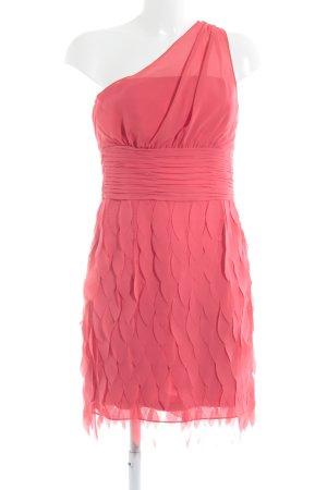 Esprit One Shoulder Dress bright red extravagant style