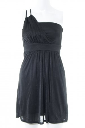 Esprit One-Shoulder-Kleid schwarz Elegant