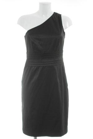Esprit Vestido de un hombro negro estilo fiesta