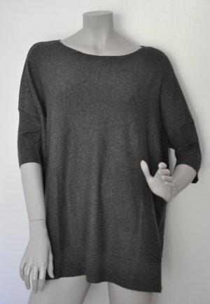 Esprit Oversize Pullover Viskosemischung grau Gr. M