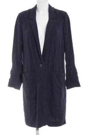 Esprit Oversized Mantel dunkelblau Casual-Look
