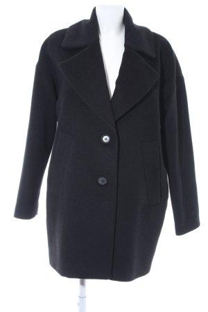 Esprit Oversized Mantel schwarz Elegant