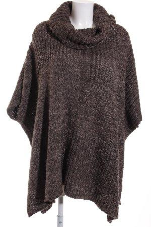 Esprit Oversized trui lichtgrijs-donkergrijs pluizig