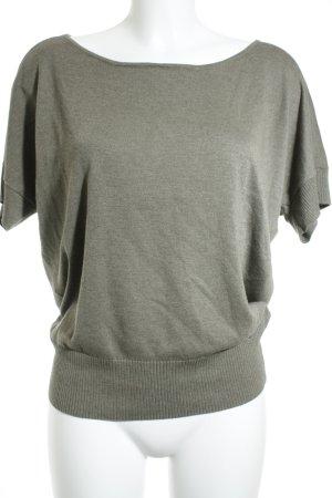 Esprit Oversized Shirt grüngrau schlichter Stil