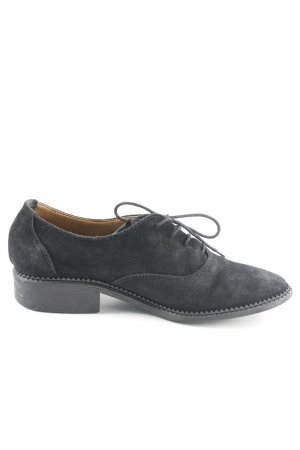 Esprit Zapatos estilo Oxford negro estilo «business»