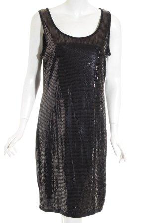 Esprit Robe à paillettes noir style festif