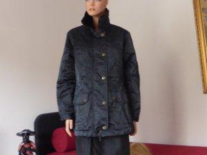 Esprit Abrigo con capucha negro poliamida
