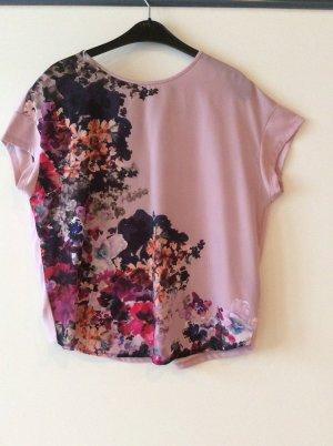 Esprit pastellfarbenes Shirt Gr L