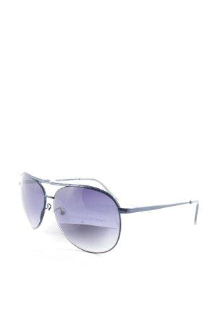 Esprit Gafas de piloto azul degradado de color estilo sencillo