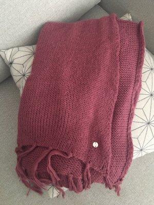 Esprit Bufanda de lana rosa