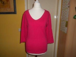 Esprit- pinkes 3/4 Arm T-Shirt Gr. M